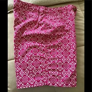 Kim Rogers women's shorts pink and white size 16